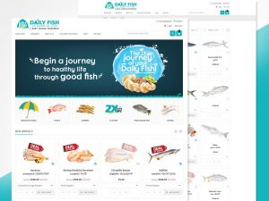 Seafood Online Store